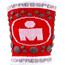 Compressport 3D Dots irtohihat/-lahkeet Ironman Edition , punainen